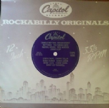 CAPITOL ROCKABILLY ORIGINALS - 16 TRACKS ROCKABILLY RARE DELETED NOW LP